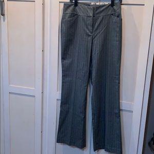 Loft wide leg curvy career slacks pants